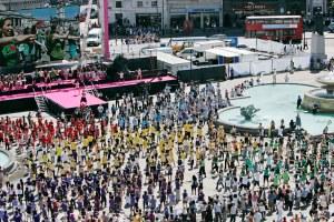 Big World Dance at Trafalgar Square